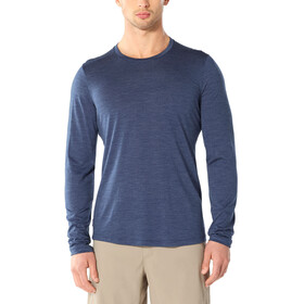 Icebreaker Sphere LS Crew Top Men, estate blue heather